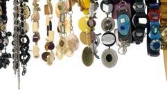 Fashion necklace Stock Photos