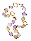 Fashion necklace Stock Photo