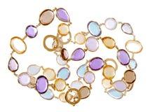 Fashion necklace Stock Photography