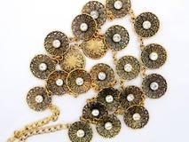 Fashion necklaces Stock Photo