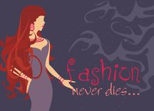 Fashion never dies Stock Photography