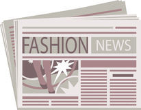 Fashion Newspaper Stock Photos