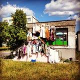 Fashion outdoor. Stock Photos