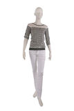 Fashion outfit on a mannequin Royalty Free Stock Image