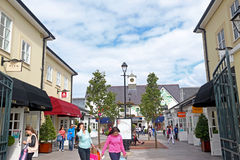 Kildare Fashion Outlet. Kildare Village is one of the Collection of nine Chic Outlet Shopping® Villages by Value Retail. Founded in 1992, Value Retail is the royalty free stock image