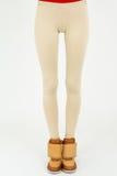 Fashion pants on slim legs Stock Images