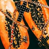 Fashion PapayaSwagg  glamorous style Royalty Free Stock Photography