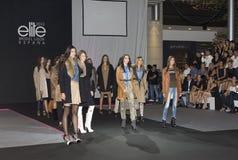 Fashion parade Stock Image