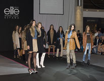 Fashion parade Royalty Free Stock Image
