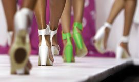 Fashion Parade Stock Photography