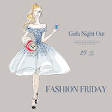 Fashion Party Royalty Free Stock Photography