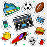 Fashion Patches Collection Stock Photography