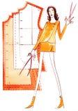 Fashion pattern Stock Image