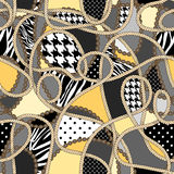 Fashion pattern Royalty Free Stock Images