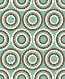 Fashion pattern with circles Royalty Free Stock Image