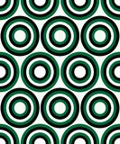 Fashion pattern with circles Royalty Free Stock Images