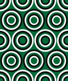 Fashion pattern with circles Royalty Free Stock Photos