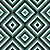Fashion pattern in viridian color Royalty Free Stock Photos