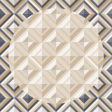 Fashion Pattern With Square Diamonds Stock Photography