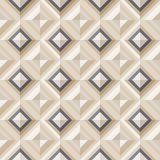 Fashion Pattern With Square Diamonds Stock Photo