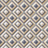 Fashion Pattern With Square Diamonds Stock Images