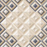 Fashion Pattern With Square Diamonds Stock Image