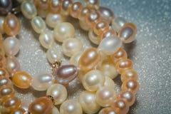 Fashion Pearl Bracelet Stock Photo