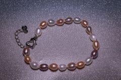 Fashion Pearl Bracelet Retro Royalty Free Stock Photography
