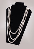 Fashion Pearl Necklace Royalty Free Stock Photography