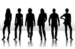 Fashion people vector illustration