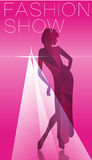 Fashion Model silhouette Royalty Free Stock Photo