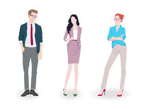 Fashion people Royalty Free Stock Image