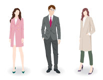 Fashion people Stock Image