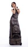 Fashion photo of beautiful lady Stock Images