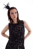 Fashion photo of beautiful lady Royalty Free Stock Photos