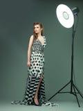Fashion photo shoot Stock Images