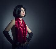 Fashion photo of young lady Royalty Free Stock Image