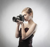 Fashion photographer Royalty Free Stock Images