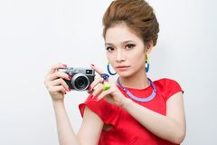 Fashion photographer Stock Image
