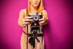 Fashion photographer Stock Photos