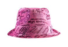 Fashion Pink Hat stock photography
