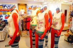 Fashion plastic model Royalty Free Stock Images