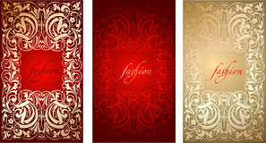 Fashion Plate Background Stock Images