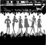 Fashion Podium Silhouette Royalty Free Stock Photo