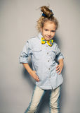 Fashion Portait child Royalty Free Stock Photography
