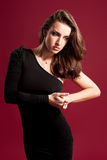 Fashion portrait Stock Image