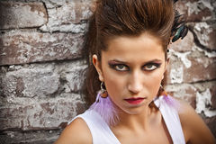 Fashion portrait Royalty Free Stock Photo