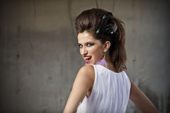 Fashion portrait Stock Images