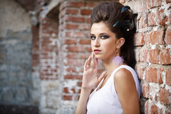 Fashion portrait Royalty Free Stock Image