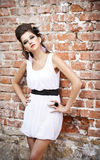 Fashion portrait Royalty Free Stock Photo